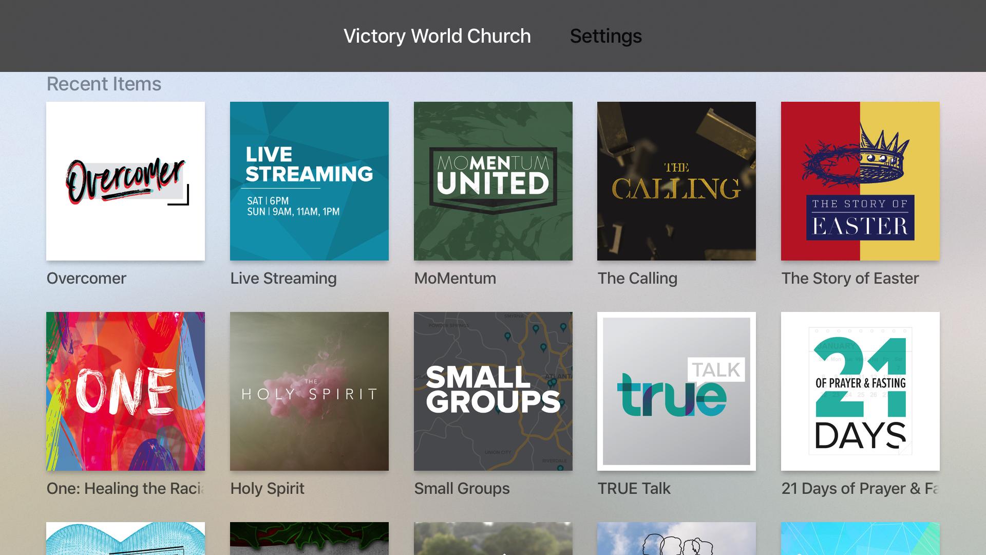 Victory World Church screenshot 7
