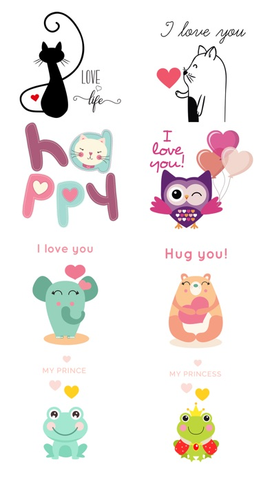 Love Quotes With Lovely Cute Animal Character App Price Drops
