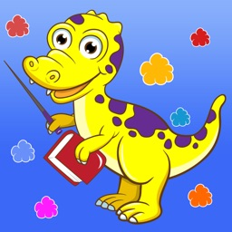 Dinosaurs game for children age 2-5: Train your skills for kindergarten, preschool or nursery school with dinos