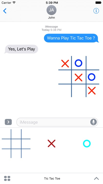 Tic Tac Toe (OX) GIF For Messages screenshot-3