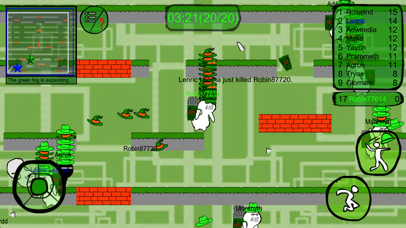 Green men's Battle Royale screenshot four