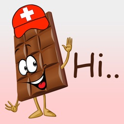 Swiss Chocolate Stickers for iMesaage