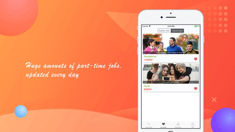 Part·time job search instantly by Orlando Serkis