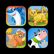 Animal Puzzles - Complete Puzzle Bundle for kids