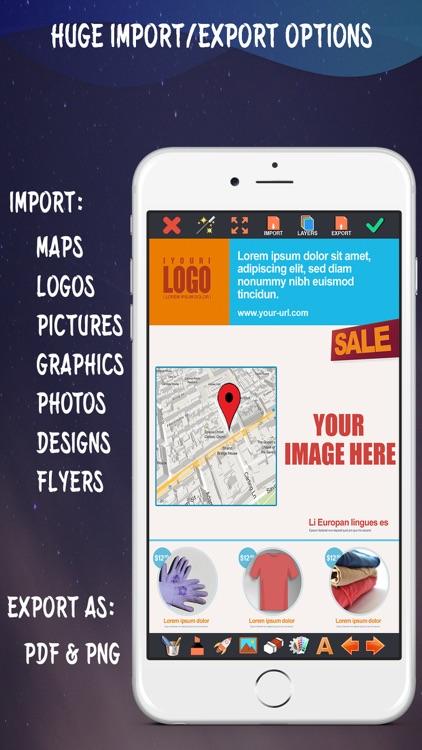 Create Flyers & Logos - Maker screenshot-3