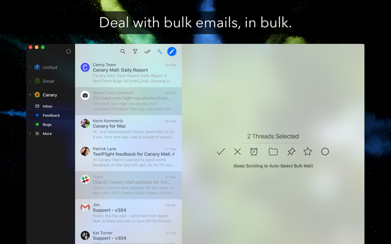 Canary Mail - Secure Email App Screenshots