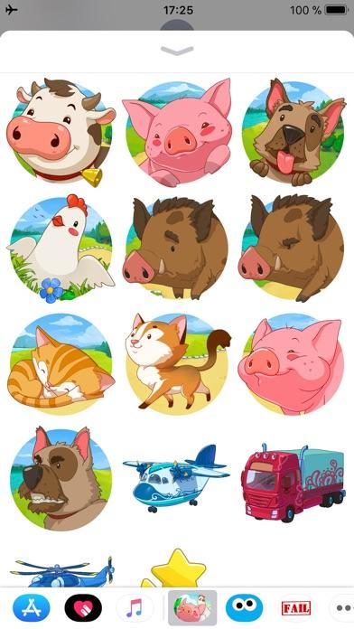 Jolly Days Farm - Sticker Pack screenshot 1