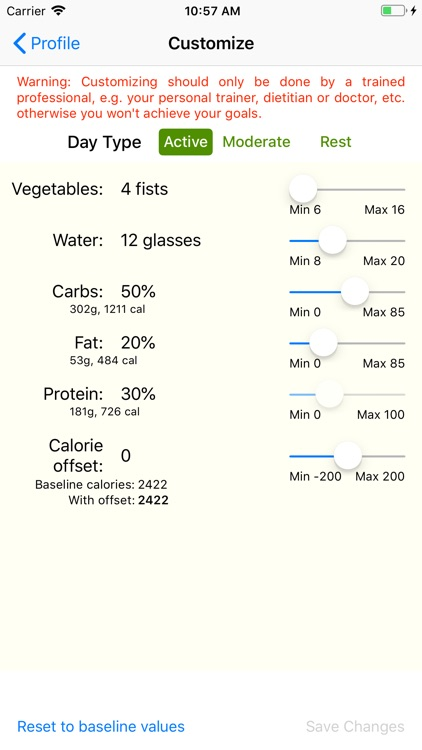 Healthii Meals screenshot-3