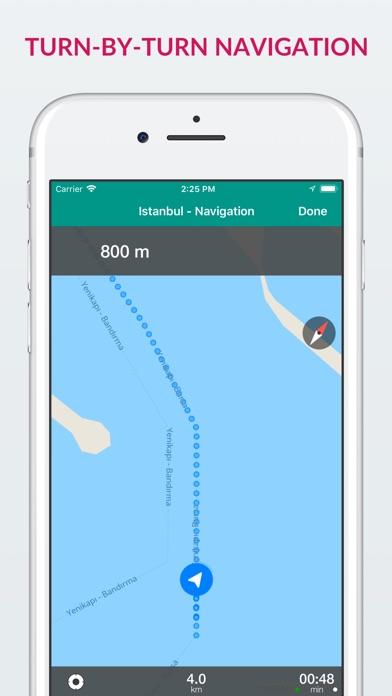 Screenshot for Istanbul Offline Map & Guide in Azerbaijan App Store