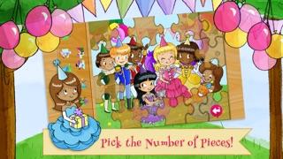 給孩子的公主生日派對拼圖屏幕截圖3