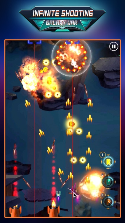 Infinite Shooting: Galaxy War screenshot-3