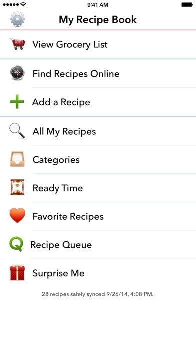 My Recipe Book Organizer screenshot1