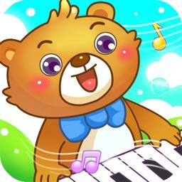 儿童游戏弹钢琴学音乐