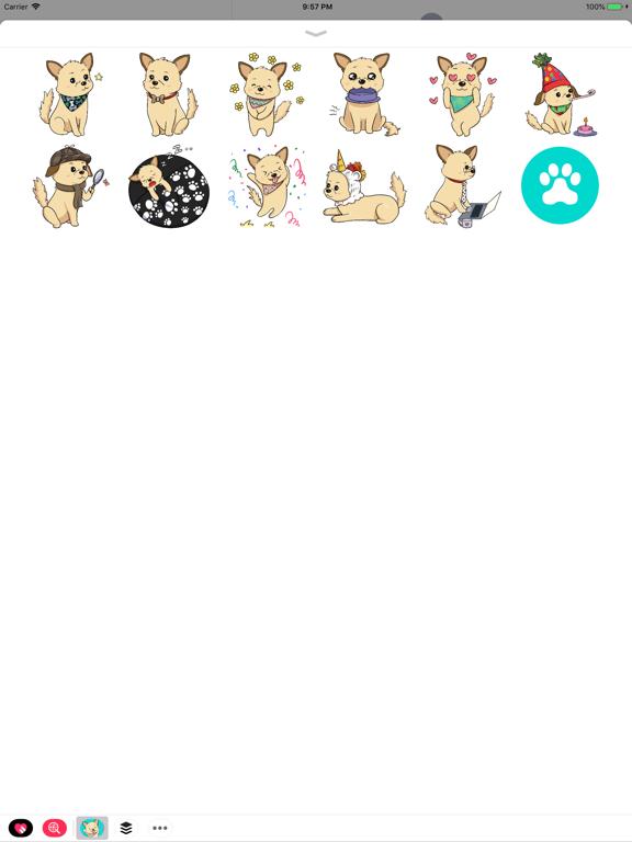 Dog Stickers by Woof Warehouse screenshot 7