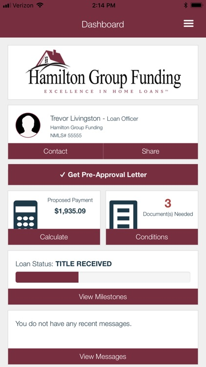 Hamilton Group Funding