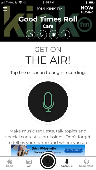 101 9 KINK fm Radio App iOS Application Version 11 7 0
