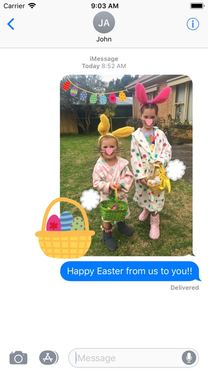 Stuck On You Easter Stickers
