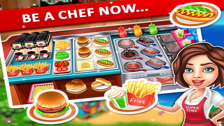 Super Chef Cooking Game screenshot-3
