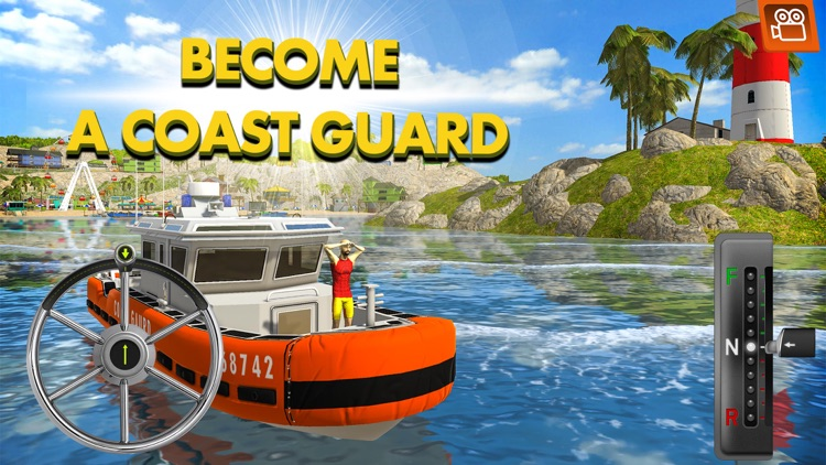 Coast Guard: Beach Rescue Team screenshot-0