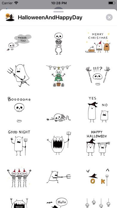 Halloween And Happy Day screenshot 2