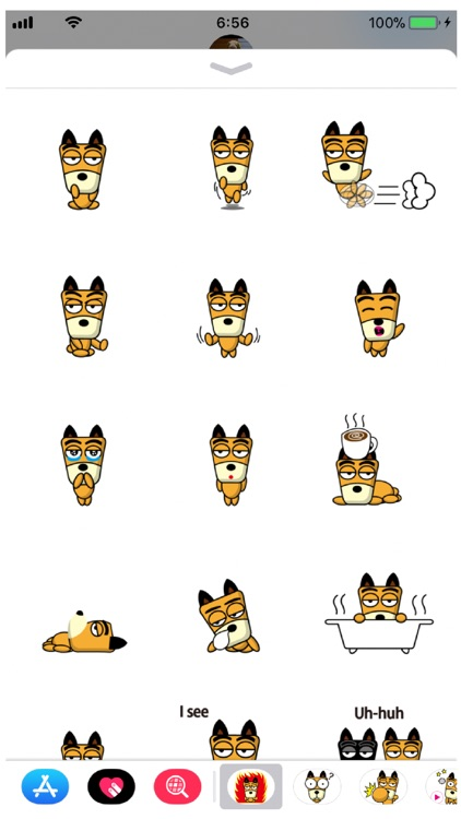 TF-Dog 3 Stickers screenshot-2