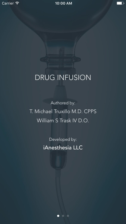Drug Infusion - IV Medications