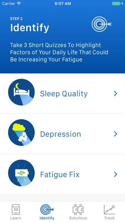 MS Fatigue Fix