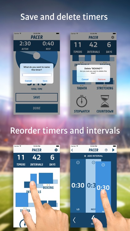 Pacer - Interval Fitness Timer screenshot-3
