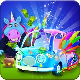Mr. Fat Unicorn Car Mechanic