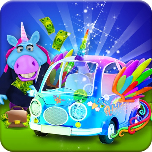 Mr. Fat Unicorn Car Mechanic