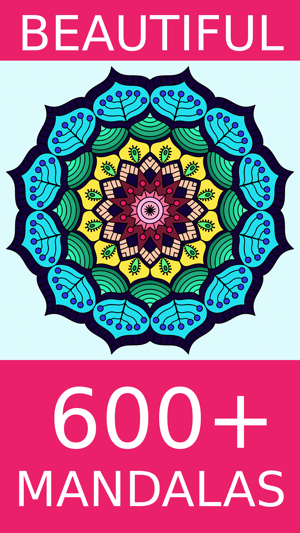 Mandala Coloring Pages Games on the App Store