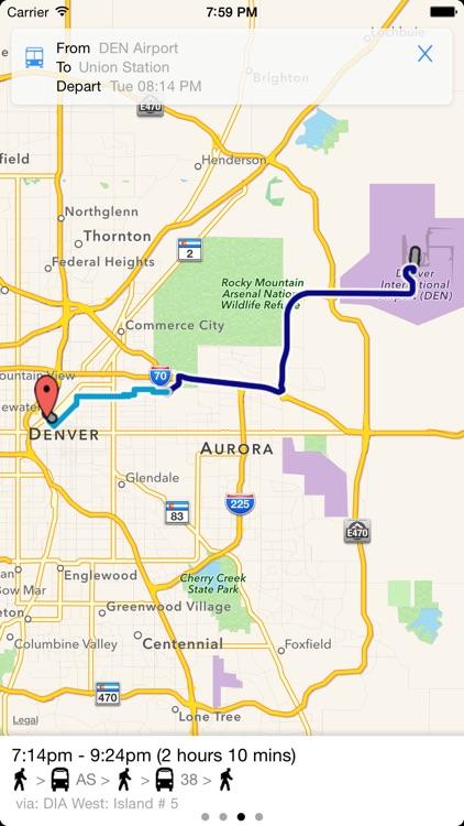 Transit Tracker - Denver screenshot-3