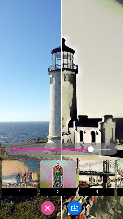Watercolor Effect Oil Painting screenshot-0