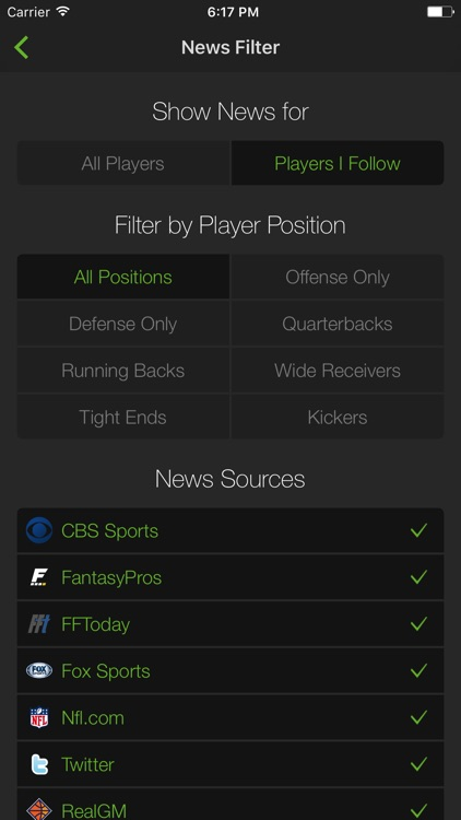 Playerline Fantasy Sports News screenshot-4