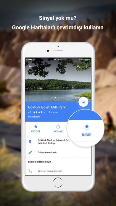 Screenshot for Google Haritalar in Turkey App Store