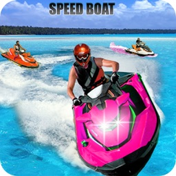 Speed Boat Racing Game 2018