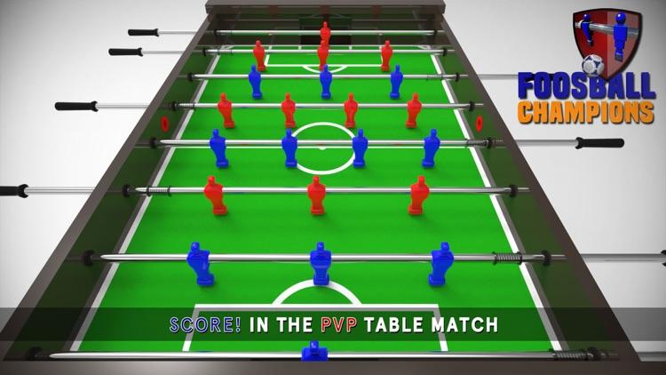 Foosball Champions PvP
