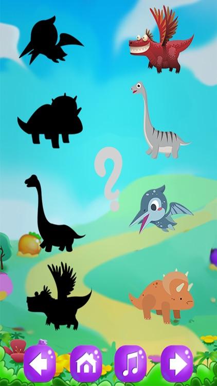 恐龙拼图:儿童游戏-挖掘侏罗纪 screenshot-4
