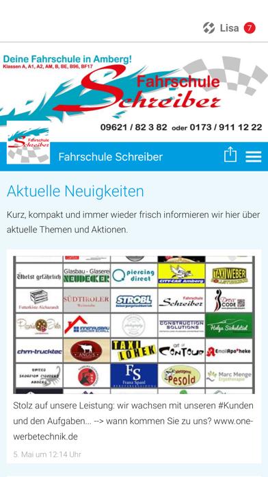 Fahrschule Schreiber screenshot one