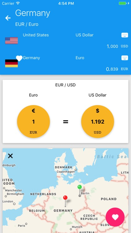 Travel Exchange Rate Screenshot 2
