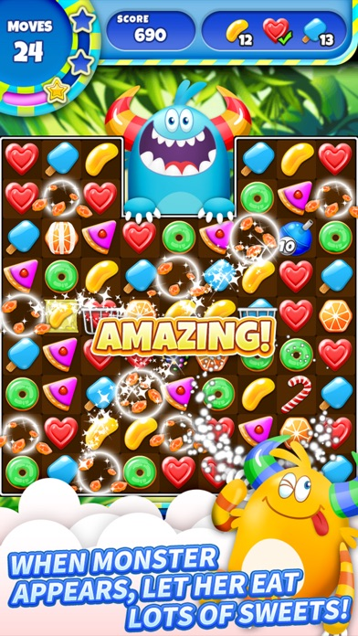 SugarLand - A match 3 puzzle screenshot 3