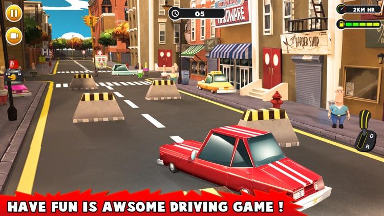 City Driving Car Parking Driving Simulator screenshot-4