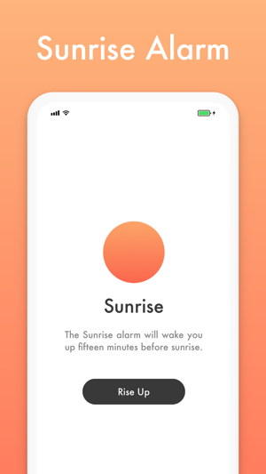 Sunrise - Soothing Alarm Clock on the App Store
