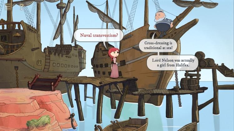 Nelly Cootalot: The Fowl Fleet screenshot-4