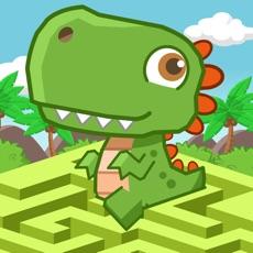 Activities of Escape Dino Island DIY Maze