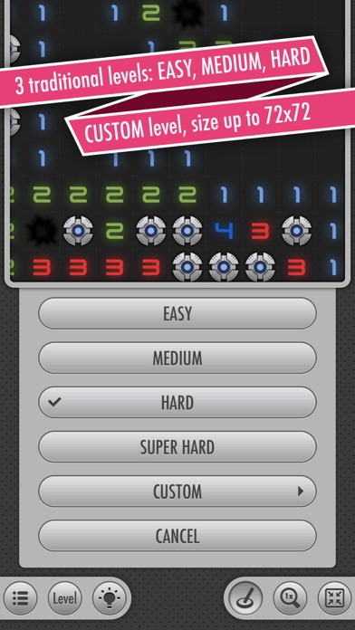 Sweepy Mines PRO (Сапёр игра) Скриншоты7