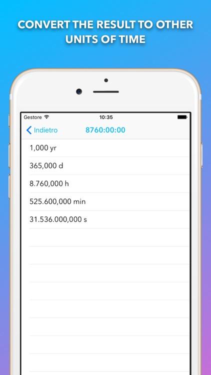 Time Calc - Time Calculator screenshot-3