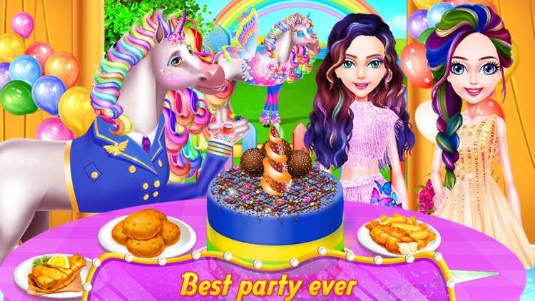 Unicorn Food - Drink & Outfits screenshot-3