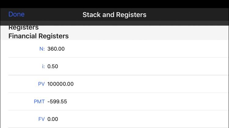 MathU 12D Financial Calculator screenshot-4