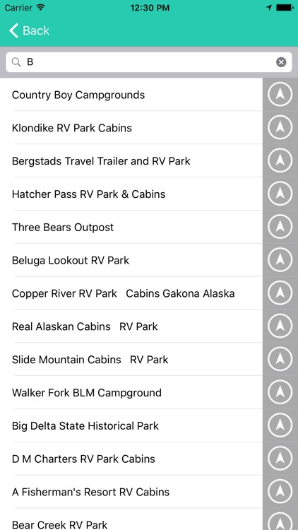 Alaska State Campgrounds & RV's